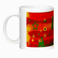 Christmas Magic Night Luminous Mugs by Valentinaart