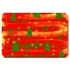 Christmas Magic Large Doormat  by Valentinaart