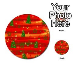 Christmas Magic Multi Purpose Cards (round)  by Valentinaart
