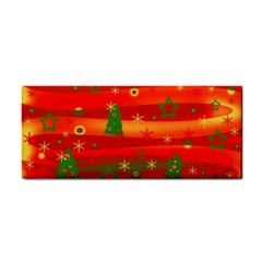 Christmas Magic Hand Towel by Valentinaart