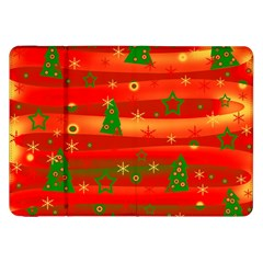 Christmas Magic Samsung Galaxy Tab 8 9  P7300 Flip Case by Valentinaart