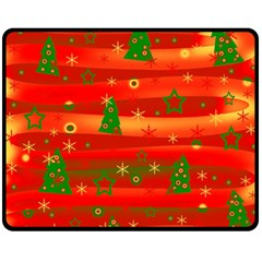 Christmas Magic Double Sided Fleece Blanket (medium)