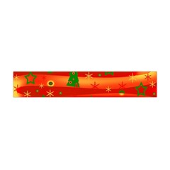 Christmas Magic Flano Scarf (mini) by Valentinaart