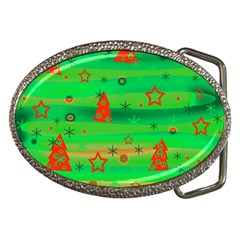 Xmas Magical Design Belt Buckles by Valentinaart