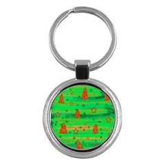 Xmas Magical Design Key Chains (round)  by Valentinaart