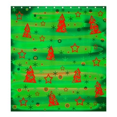 Xmas Magical Design Shower Curtain 66  X 72  (large)  by Valentinaart