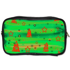 Xmas Magical Design Toiletries Bags 2 Side
