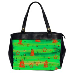 Xmas Magical Design Office Handbags (2 Sides)  by Valentinaart