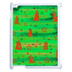 Xmas Magical Design Apple Ipad 2 Case (white)