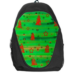 Xmas Magical Design Backpack Bag by Valentinaart