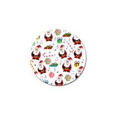 Xmas Song Golf Ball Marker (4 Pack) by Valentinaart