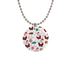 Xmas Song Button Necklaces