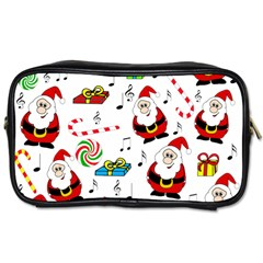 Xmas Song Toiletries Bags by Valentinaart