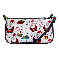 Xmas Song Shoulder Clutch Bags by Valentinaart