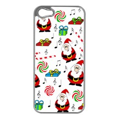 Xmas Song Apple Iphone 5 Case (silver) by Valentinaart