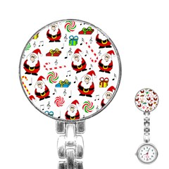 Xmas Song Stainless Steel Nurses Watch by Valentinaart