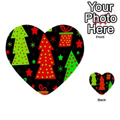 Merry Xmas Multi Purpose Cards (heart)  by Valentinaart