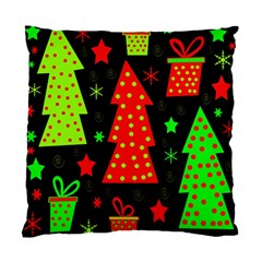 Merry Xmas Standard Cushion Case (one Side) by Valentinaart