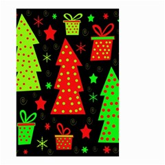 Merry Xmas Small Garden Flag (two Sides)