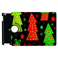 Merry Xmas Apple Ipad 2 Flip 360 Case