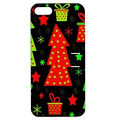 Merry Xmas Apple Iphone 5 Hardshell Case With Stand by Valentinaart