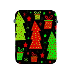 Merry Xmas Apple Ipad 2/3/4 Protective Soft Cases by Valentinaart