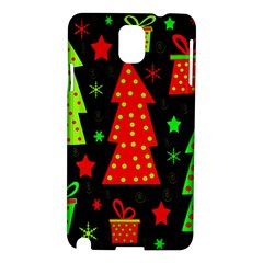 Merry Xmas Samsung Galaxy Note 3 N9005 Hardshell Case by Valentinaart