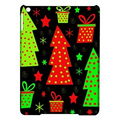 Merry Xmas Ipad Air Hardshell Cases by Valentinaart