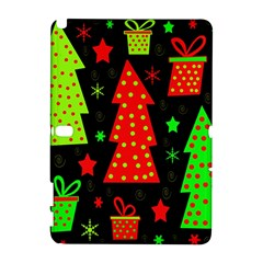 Merry Xmas Samsung Galaxy Note 10 1 (p600) Hardshell Case by Valentinaart