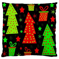 Merry Xmas Standard Flano Cushion Case (one Side) by Valentinaart