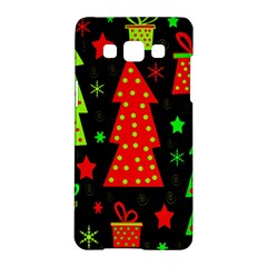 Merry Xmas Samsung Galaxy A5 Hardshell Case  by Valentinaart