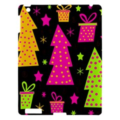 Colorful Xmas Apple Ipad 3/4 Hardshell Case