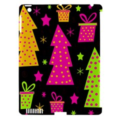 Colorful Xmas Apple Ipad 3/4 Hardshell Case (compatible With Smart Cover) by Valentinaart