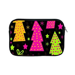 Colorful Xmas Apple Ipad Mini Zipper Cases by Valentinaart