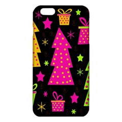 Colorful Xmas Iphone 6 Plus/6s Plus Tpu Case by Valentinaart