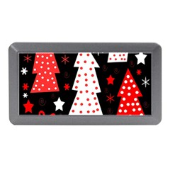 Red Playful Xmas Memory Card Reader (mini) by Valentinaart