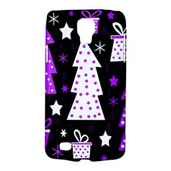 Purple Playful Xmas Galaxy S4 Active by Valentinaart