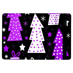 Purple Playful Xmas Ipad Air Flip by Valentinaart