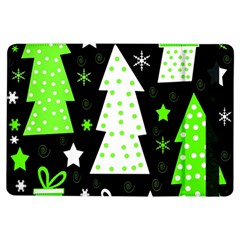 Green Playful Xmas Ipad Air Flip by Valentinaart