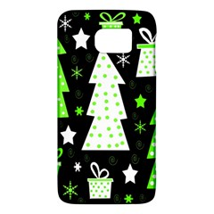 Green Playful Xmas Galaxy S6 by Valentinaart