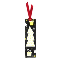 Yellow Playful Xmas Small Book Marks by Valentinaart