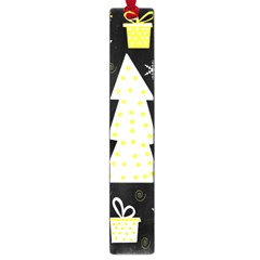 Yellow Playful Xmas Large Book Marks by Valentinaart