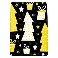 Yellow Playful Xmas Flap Covers (s)  by Valentinaart