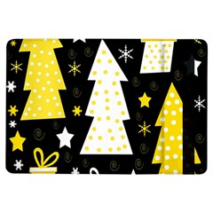 Yellow Playful Xmas Ipad Air Flip by Valentinaart