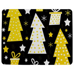 Yellow Playful Xmas Jigsaw Puzzle Photo Stand (rectangular) by Valentinaart