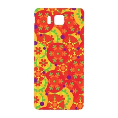 Orange Design Samsung Galaxy Alpha Hardshell Back Case