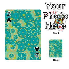Cyan Design Playing Cards 54 Designs