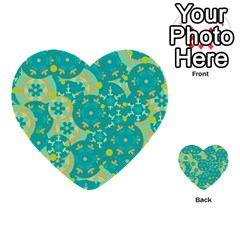 Cyan Design Multi Purpose Cards (heart)  by Valentinaart