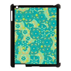 Cyan Design Apple Ipad 3/4 Case (black) by Valentinaart