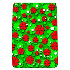 Xmas Flowers Flap Covers (s)  by Valentinaart
